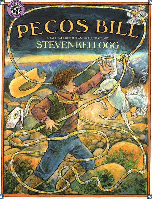 Pecos Bill als Taschenbuch