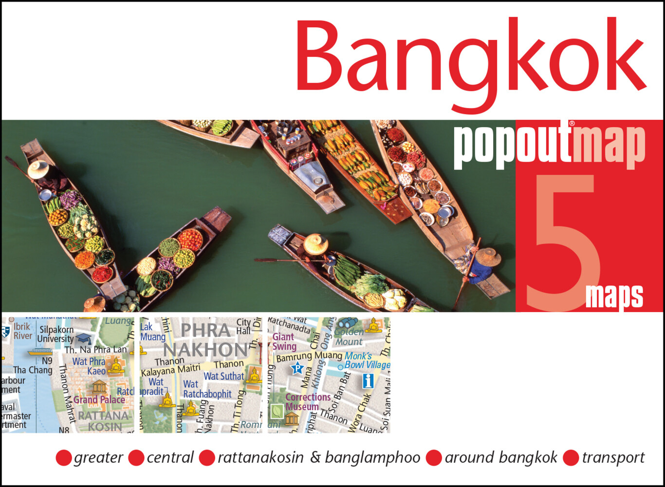 Bangkok Double als Buch von Popout Maps