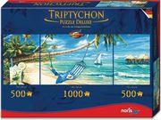 Triptychon Puzzle 2000tlg. Südseeträume
