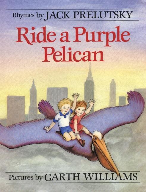 Ride a Purple Pelican als Taschenbuch