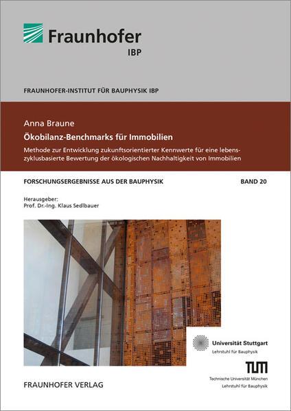 Ökobilanz-Benchmarks für Immobilien als Buch vo...