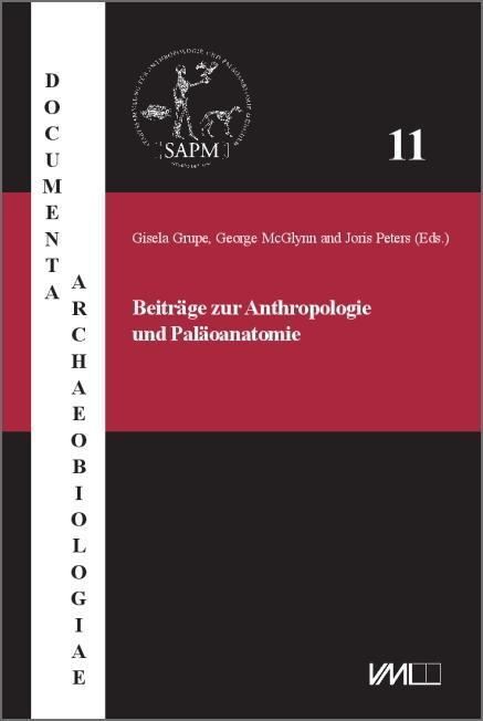 Beiträge zur Anthropologie und Paläoanatomie (Buch)