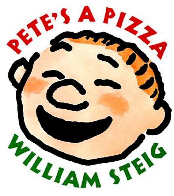 Pete's a Pizza als Buch