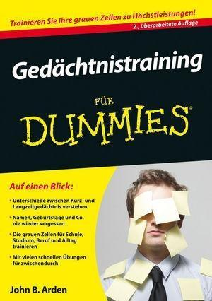 Gedächtnistraining für Dummies als eBook epub