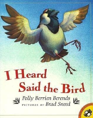 I Heard Said the Bird als Taschenbuch