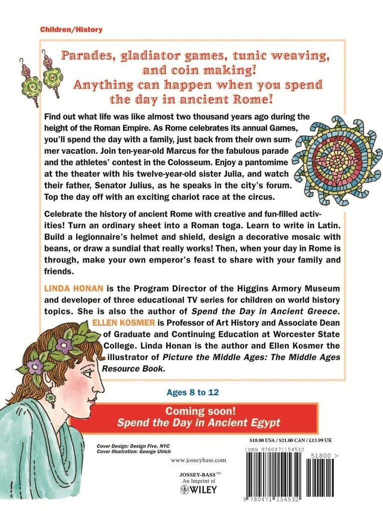 Spend the Day in Ancient Rome als Taschenbuch