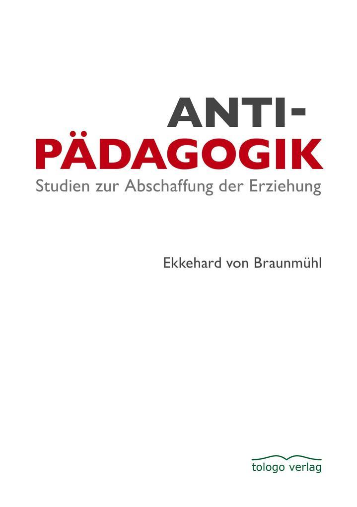 Antipädagogik als eBook