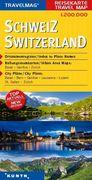 KUNTH Reisekarte Schweiz 1:200 000