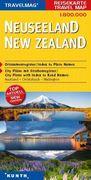 KUNTH Reisekarte Neuseeland 1 : 800 000