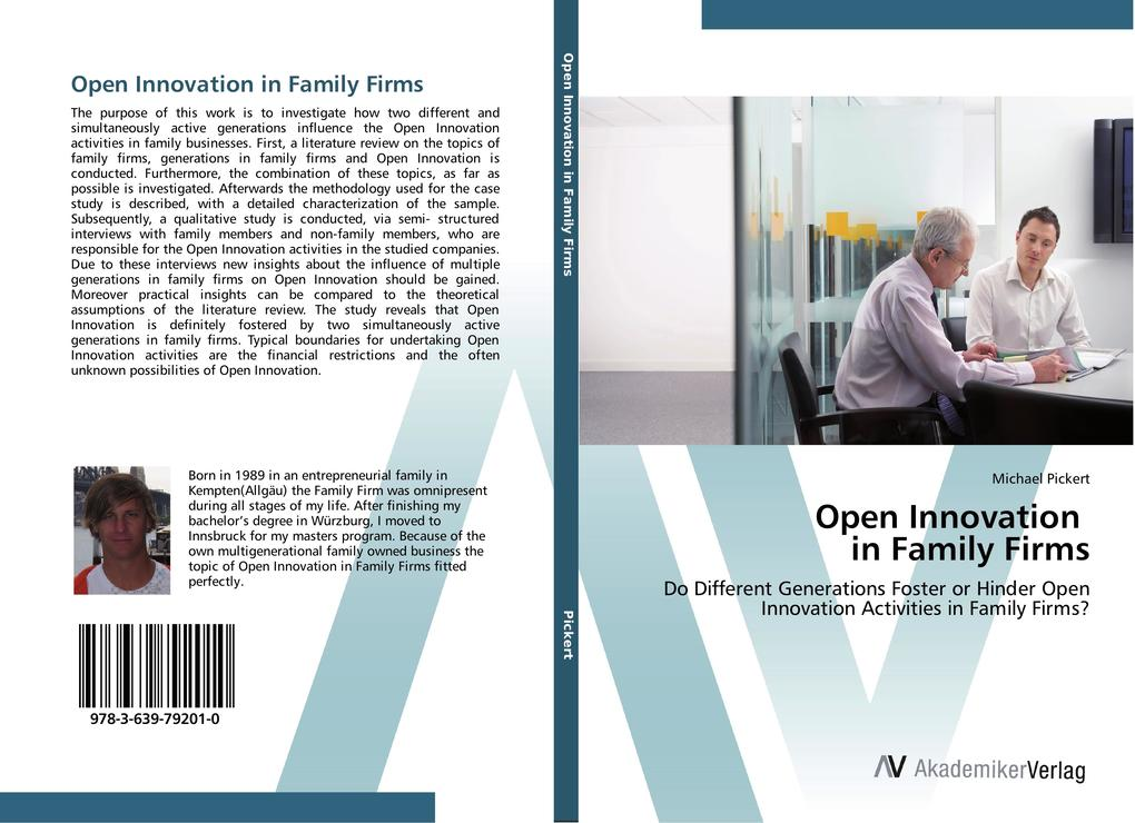 Open Innovation in Family Firms als Buch von Mi...
