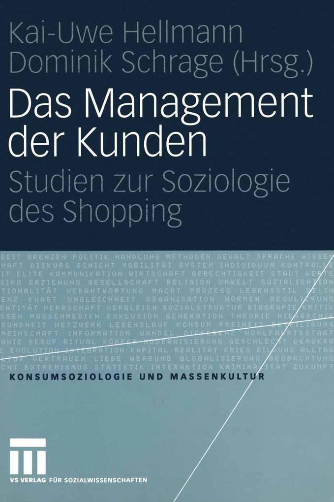 Das Management der Kunden als eBook Download von