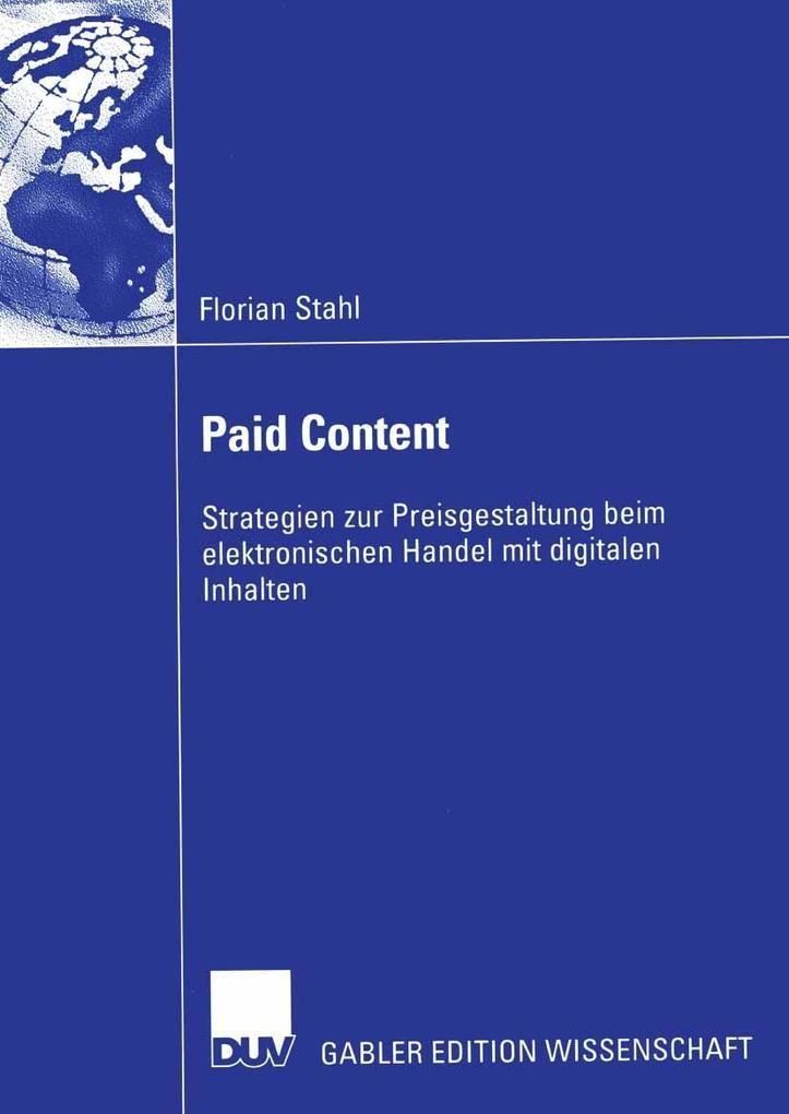 Paid Content als eBook Download von Florian Stahl