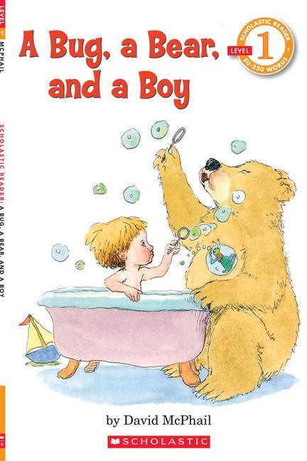 A Bug, a Bear, and a Boy (Scholastic Reader, Level 1) als Taschenbuch