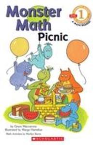 Scholastic Reader Level 1: Monster Math Picnic als Taschenbuch