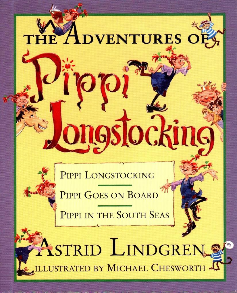The Adventures of Pippi Longstocking als Buch