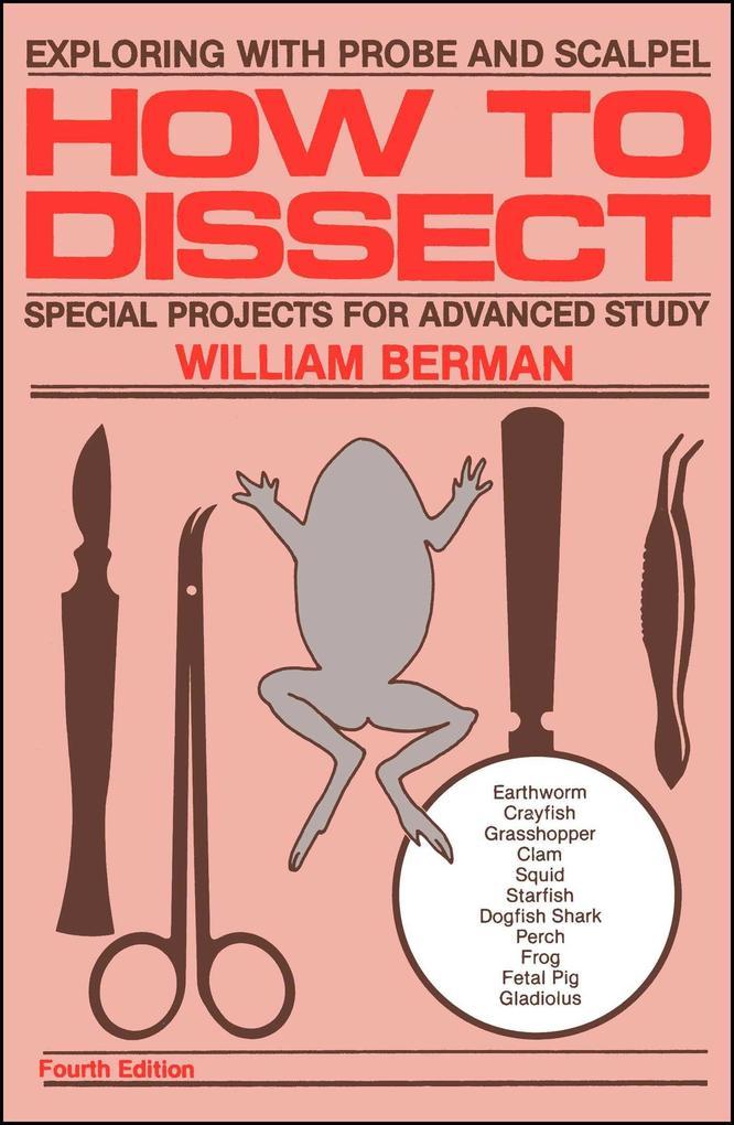 How to Dissect als Taschenbuch