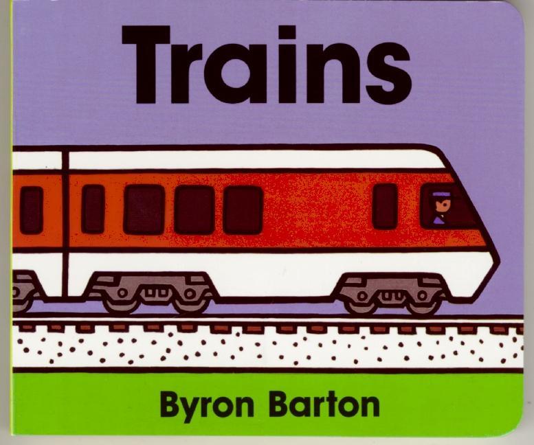 Trains Board Book als Buch