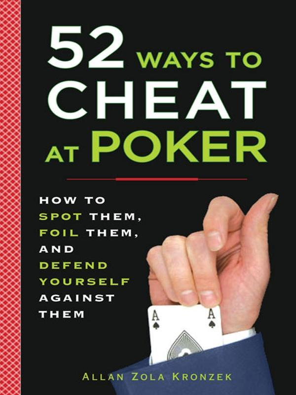 52 Ways to Cheat at Poker als eBook Download vo...