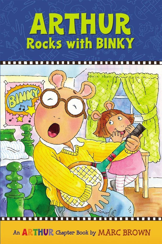 Arthur Rocks with BINKY als Taschenbuch