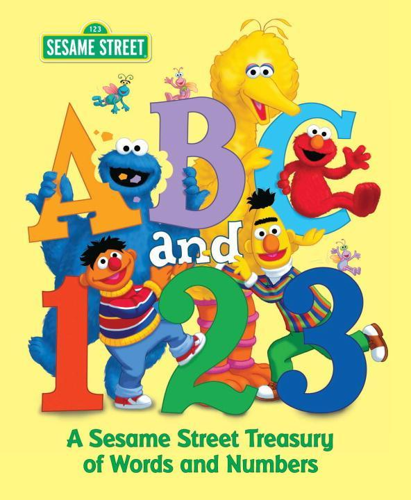 Sesame Street ABC and 123 als Buch