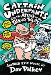 Captain Underpants and the Attack of the Talking Toilets (Captain Underpants #2) als Buch