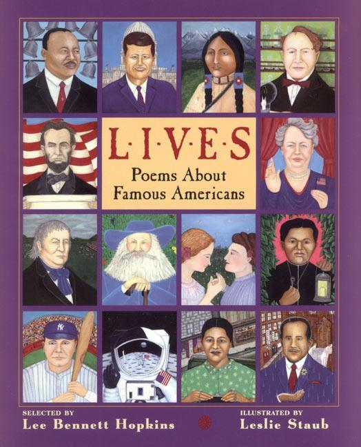 Lives: Poems about Famous Americans als Buch