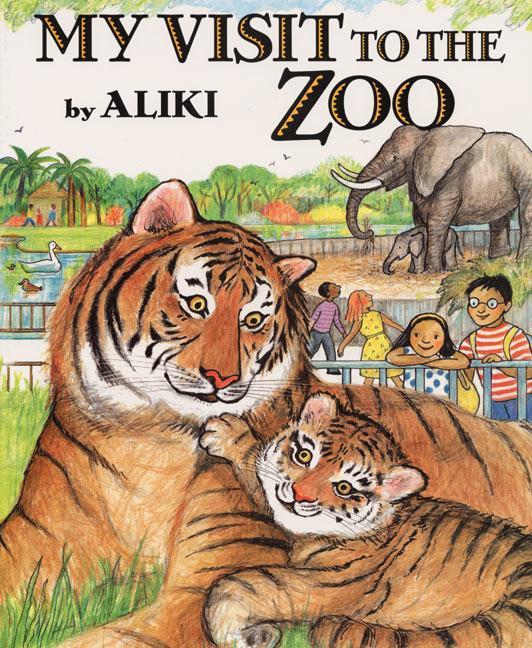 My Visit to the Zoo als Taschenbuch