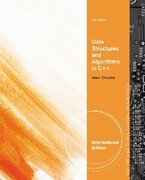 Data Structures and Algorithms in C++, International Edition