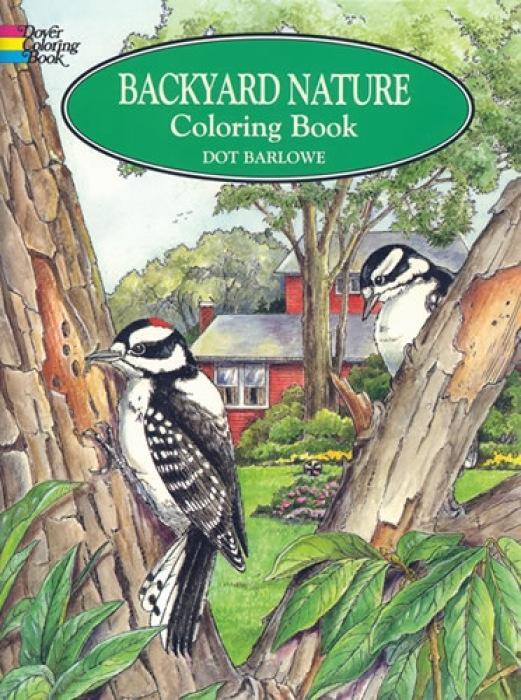 Backyard Nature Coloring Book als Taschenbuch