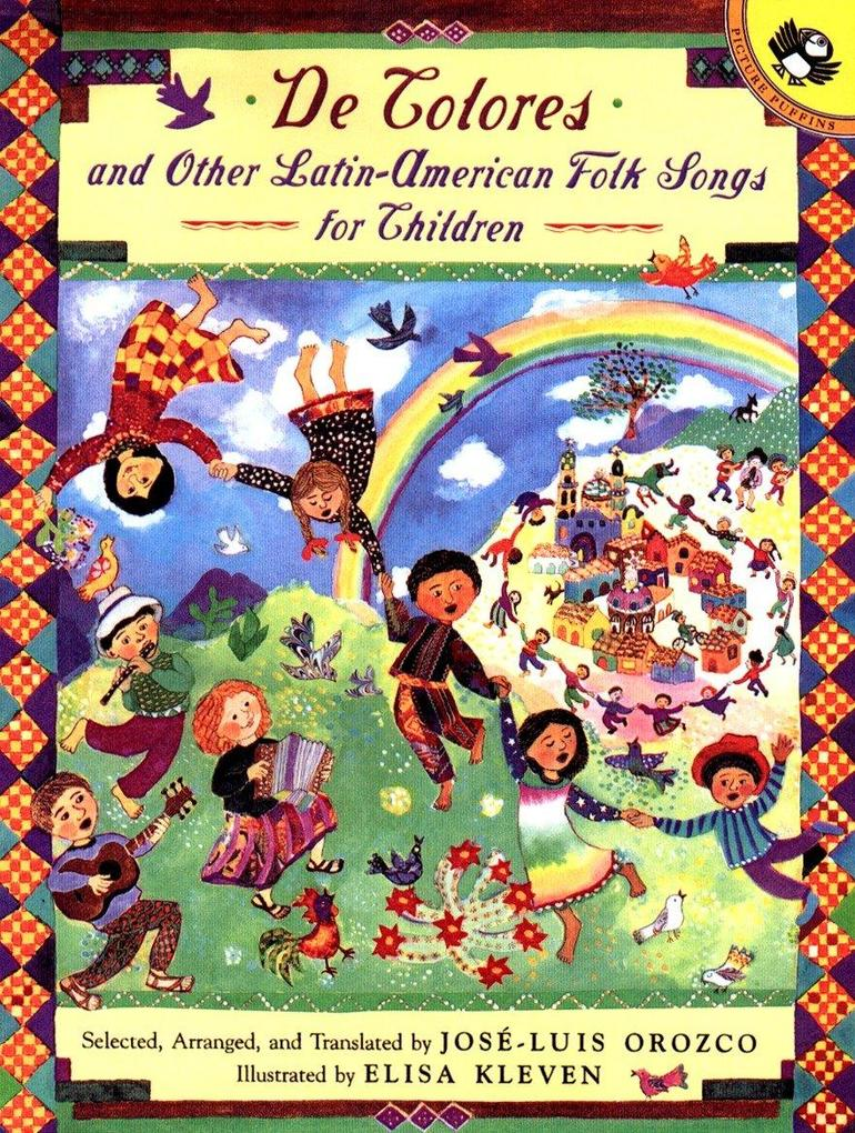 de Colores and Other Latin American Folksongs for Children als Taschenbuch