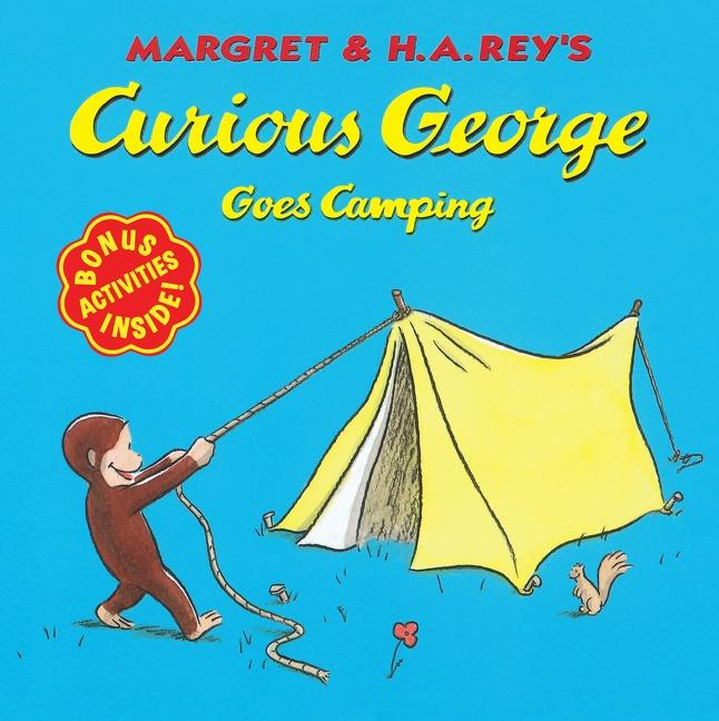 Curious George Goes Camping als Taschenbuch