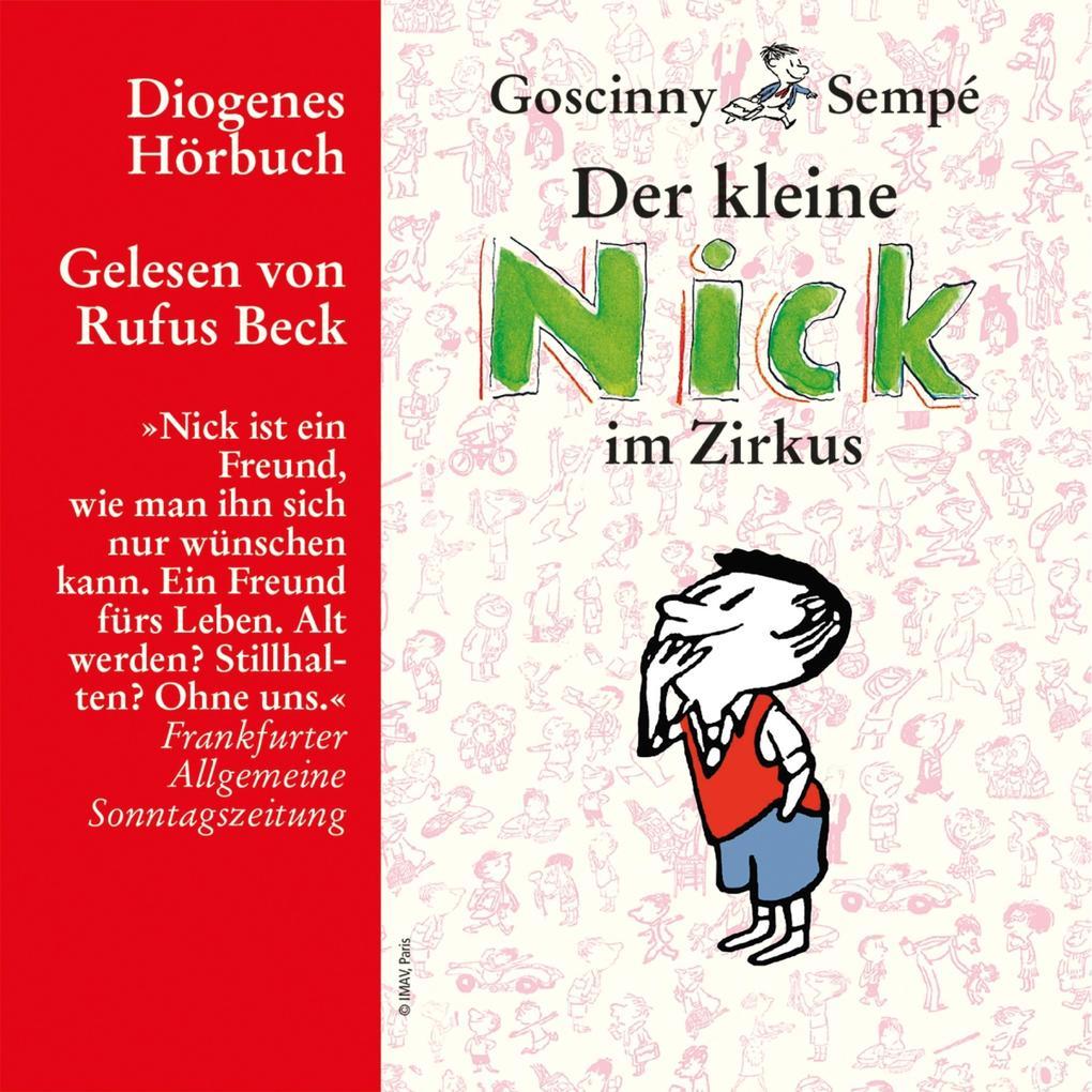 Der kleine Nick im Zirkus als Hörbuch Download