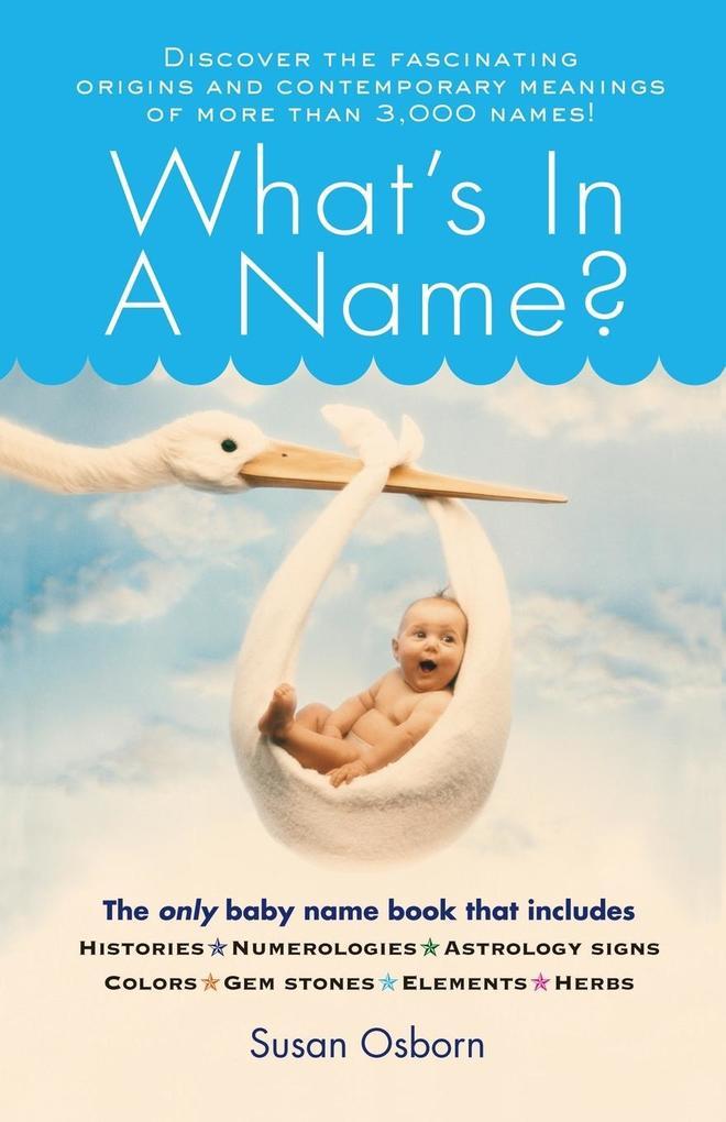 What's in a Name? als Taschenbuch