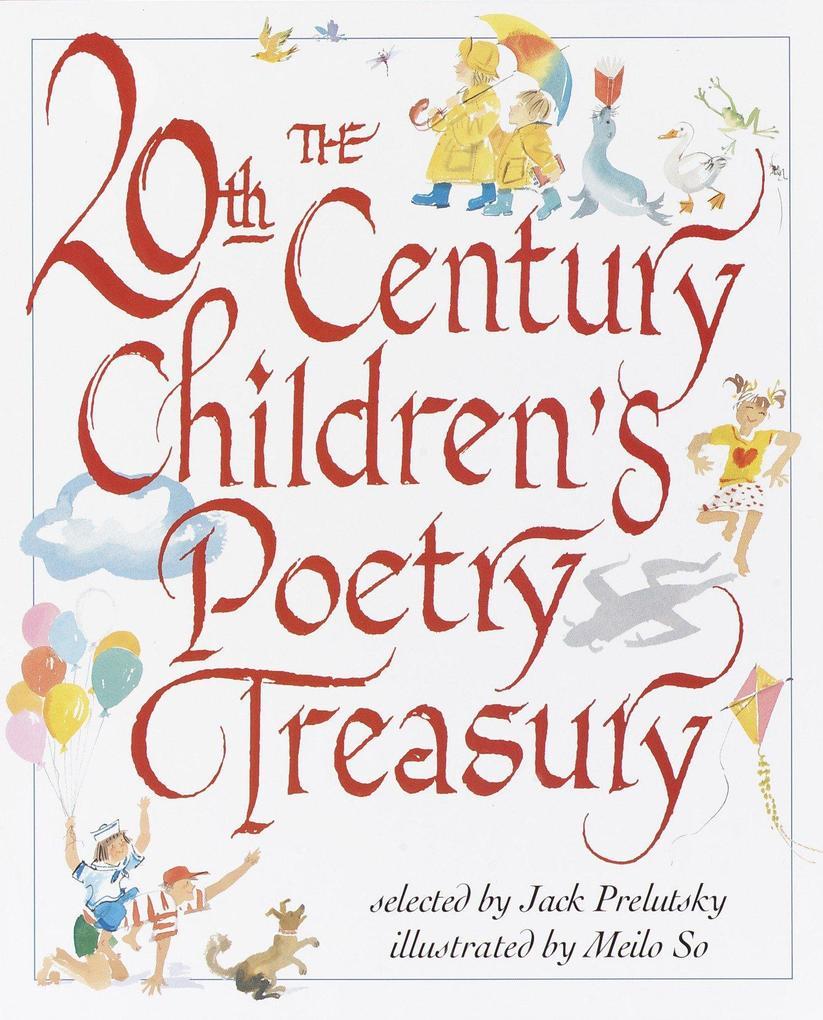 The 20th Century Children's Poetry Treasury als Buch