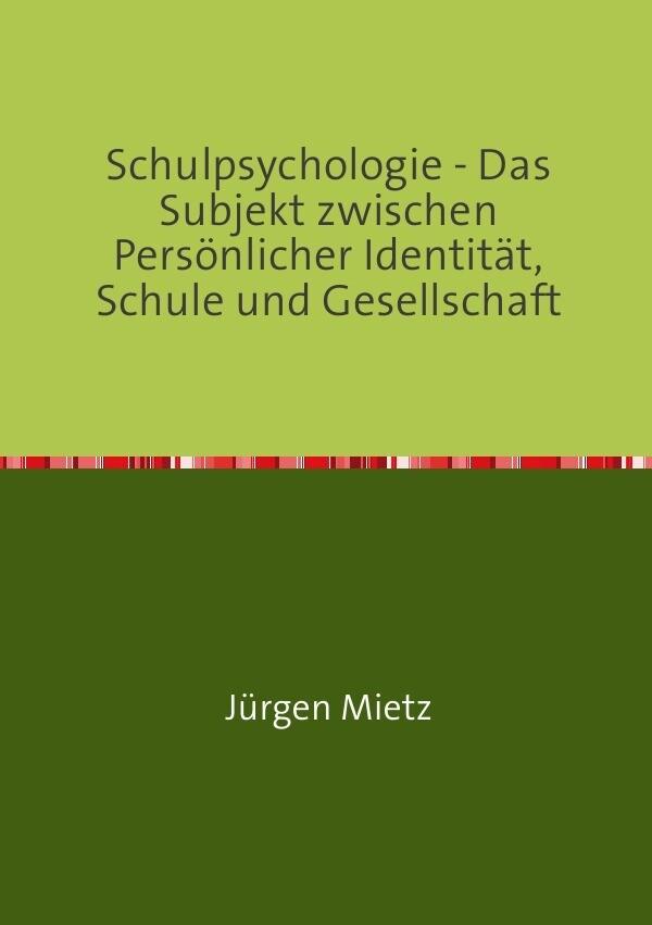 Schulpsychologie - als Buch