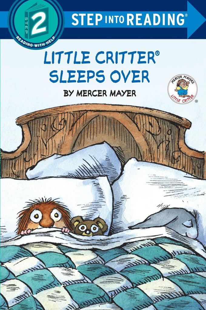 Little Critter Sleeps Over als Taschenbuch