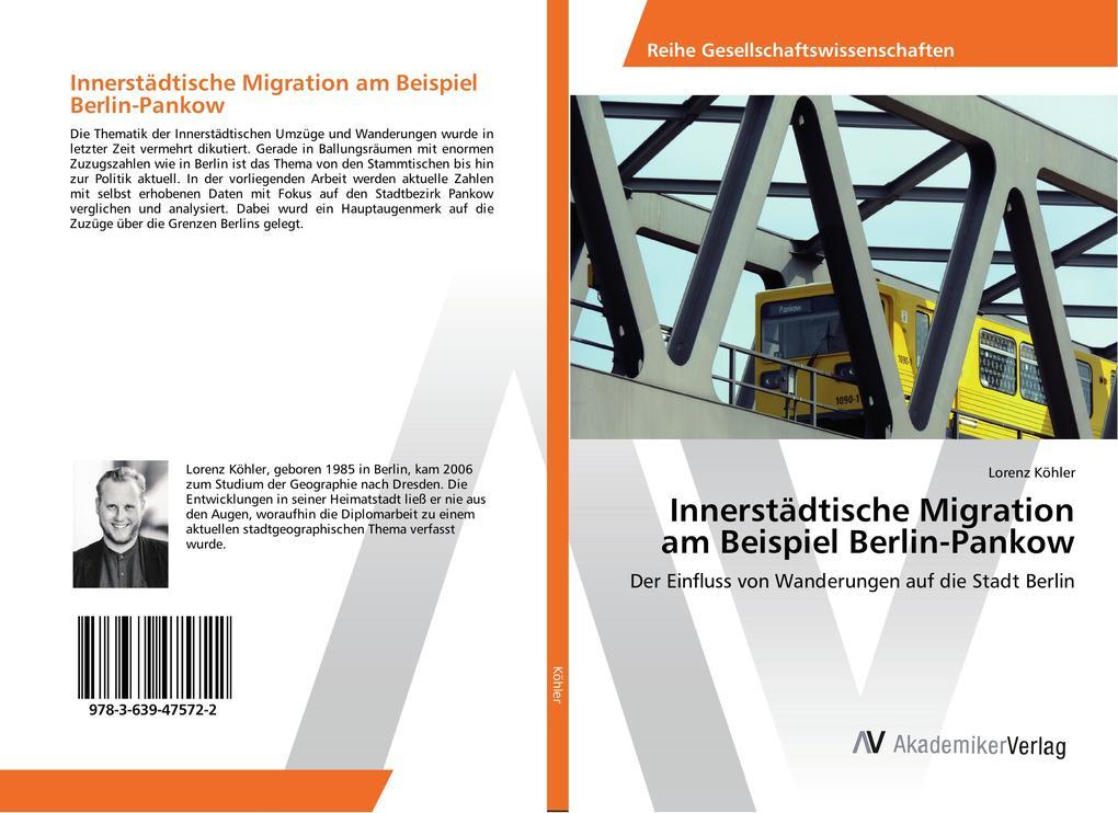Innerstädtische Migration am Beispiel Berlin-Pa...