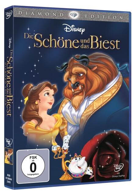Die Schöne und das Biest. Diamond Edition als DVD