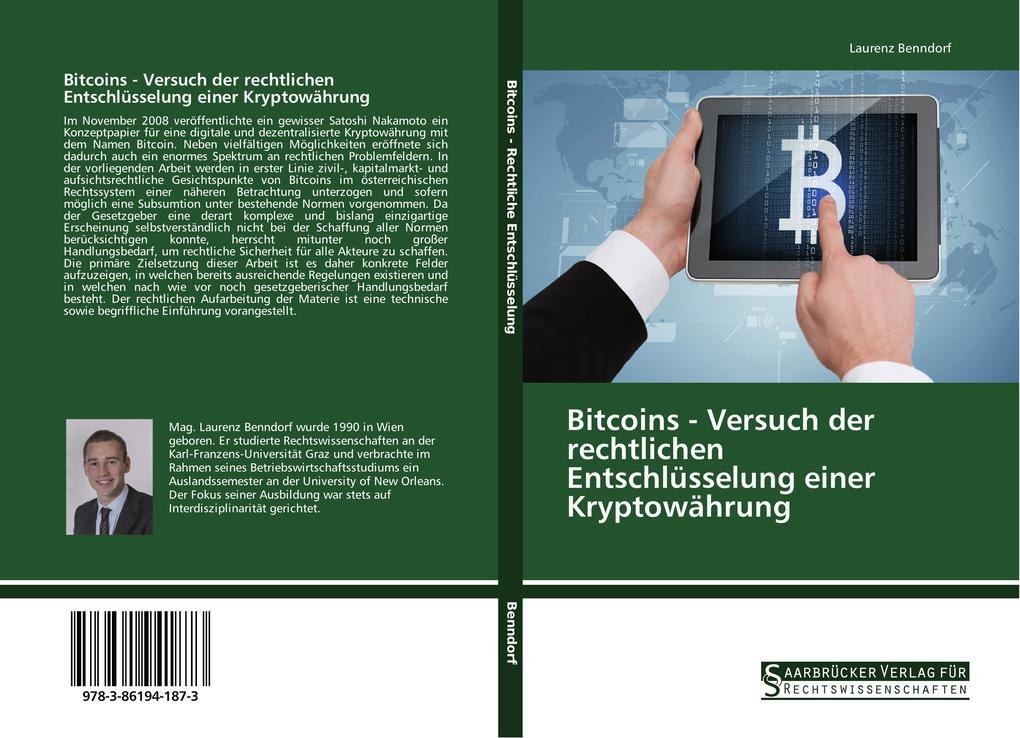 Bitcoins - Versuch der rechtlichen Entschlüssel...