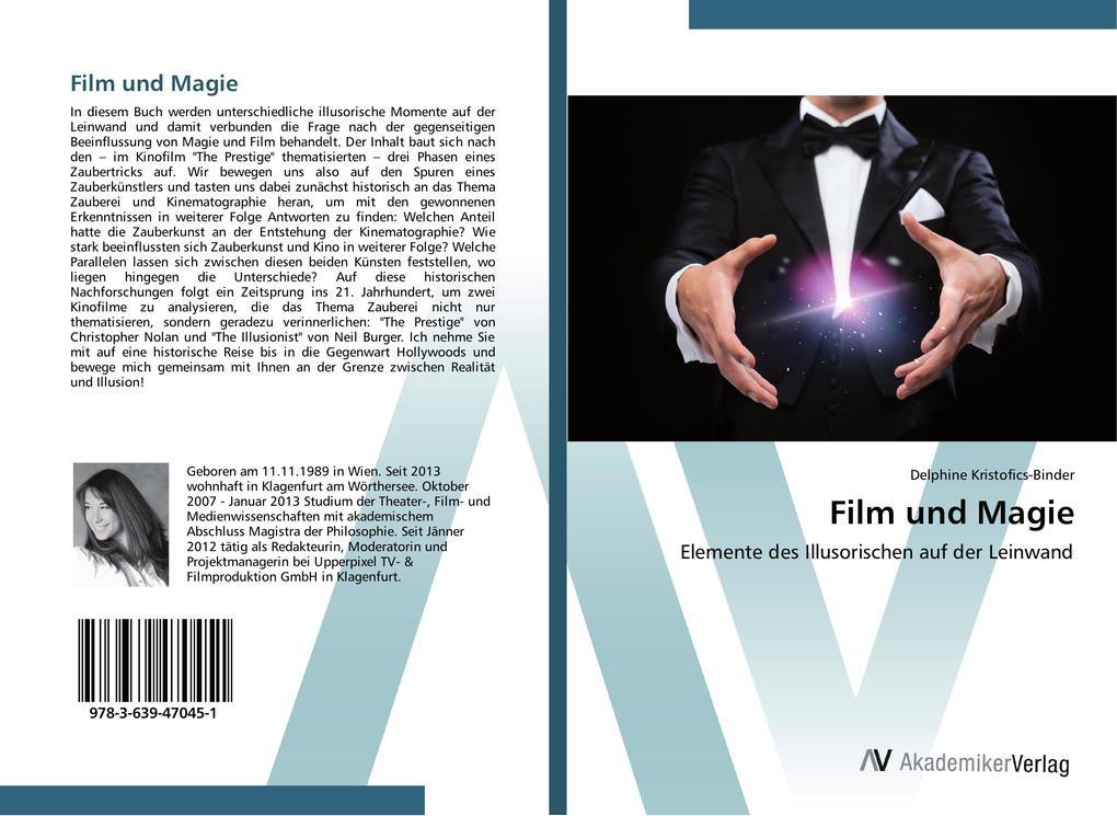 Film und Magie als Buch von Delphine Kristofics...