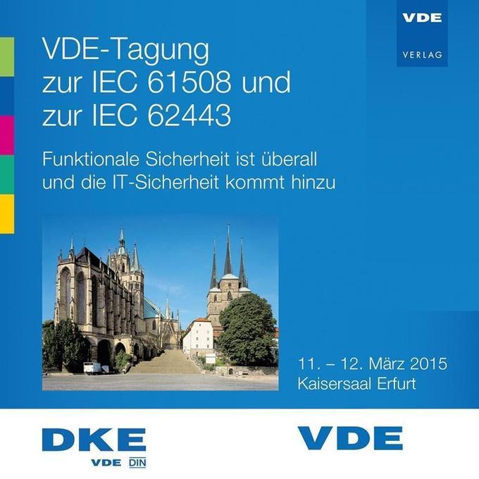 VDE-Tagung zur IEC 61508 und zur IEC 62443