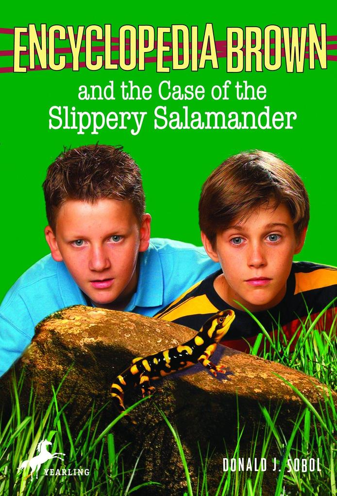 Encyclopedia Brown and the Case of the Slippery Salamander als Taschenbuch