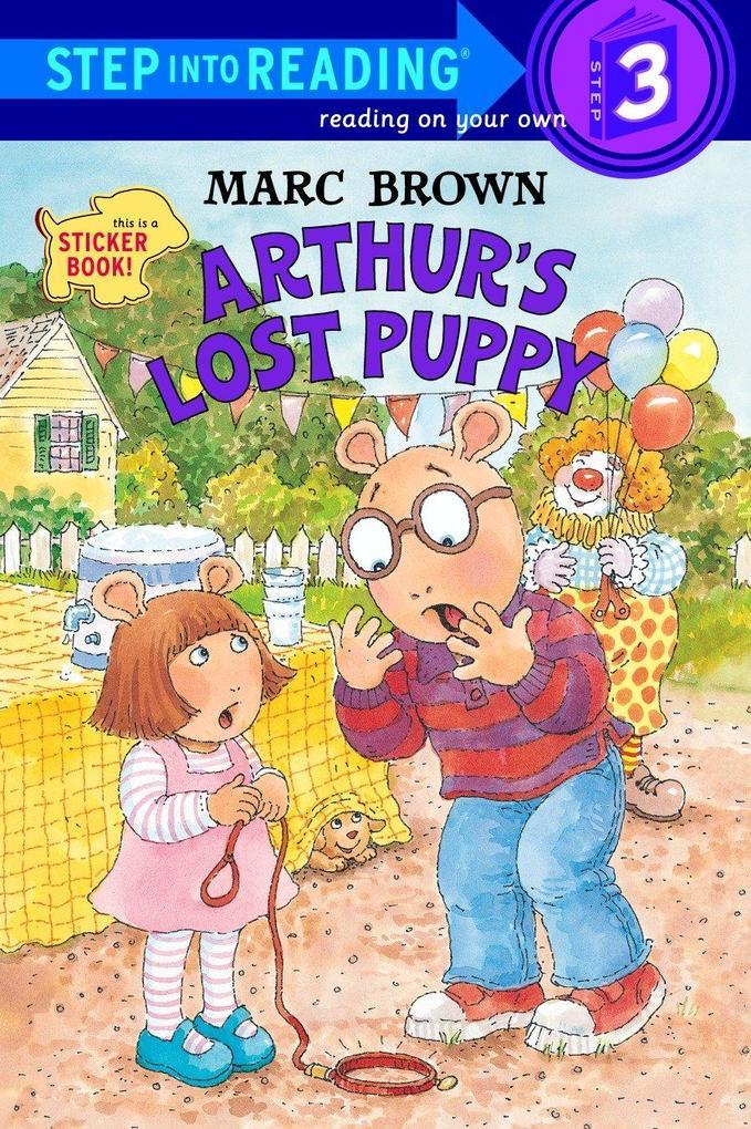 Arthur's Lost Puppy [With Stickers] als Taschenbuch