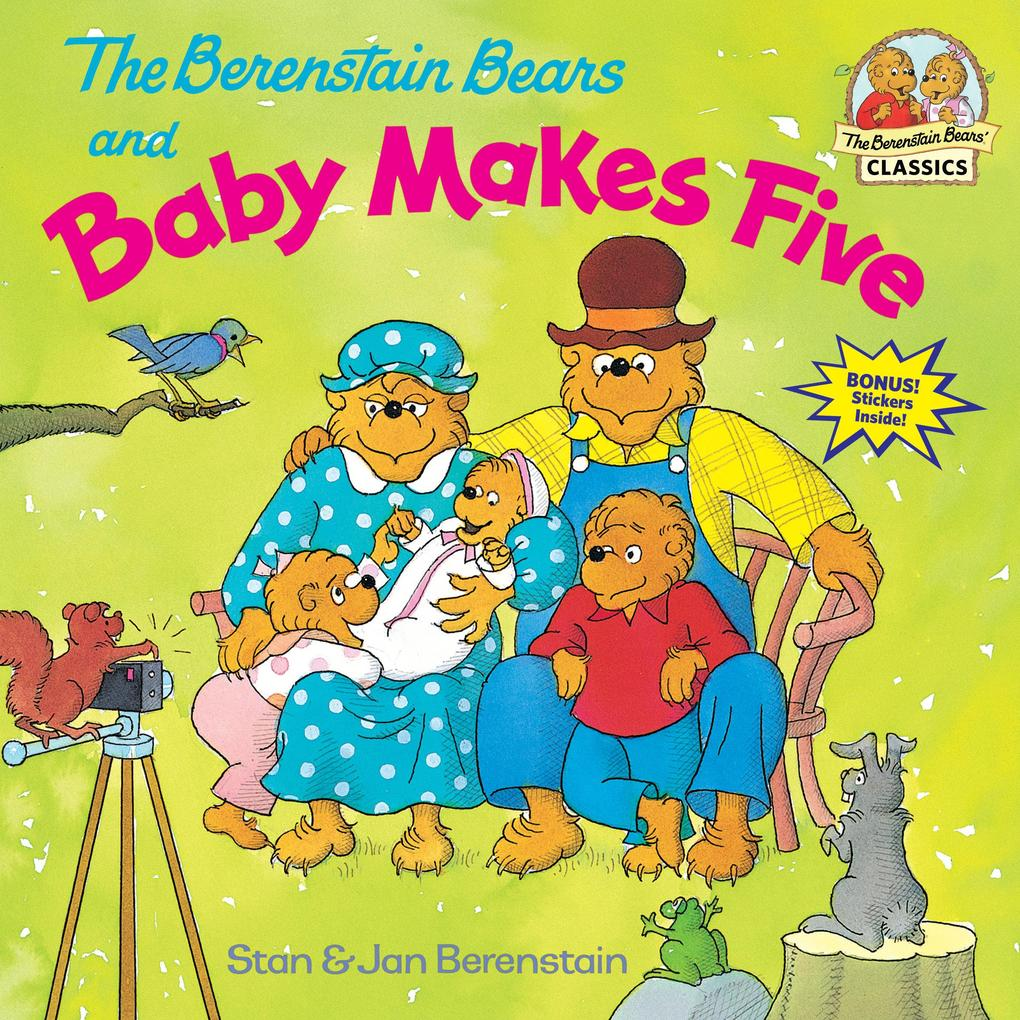The Berenstain Bears and Baby Makes Five als Taschenbuch