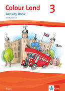 Colour Land ab Klasse 3. Activity Book mit Audio-CD. Ausgabe für Bayern. Klasse 3