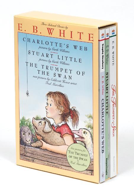 E. B. White Box Set: Charlotte's Web, Stuart Little, the Trumpet of the Swan als Taschenbuch