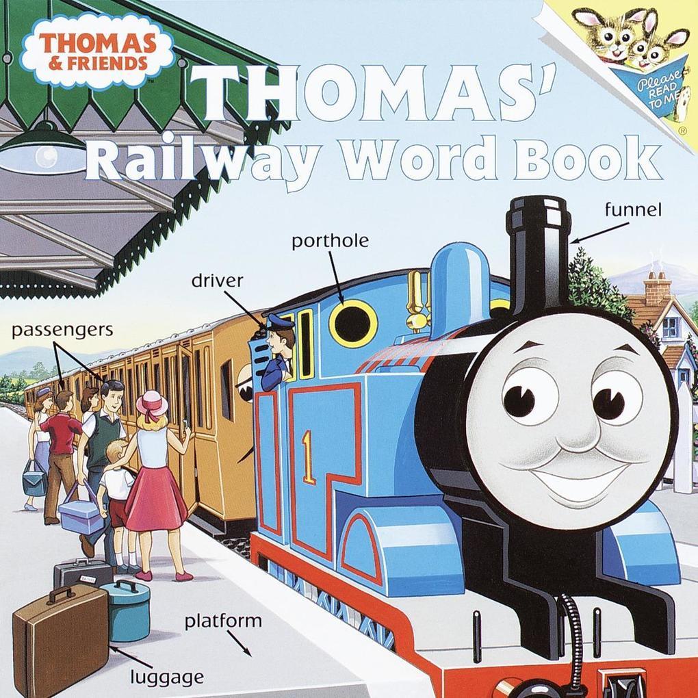 Thomas's Railway Word Book (Thomas & Friends) als Taschenbuch