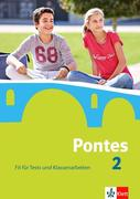 Pontes 2. Fit für Tests und Klassenarbeiten. Arbeitsheft mit Lösungen