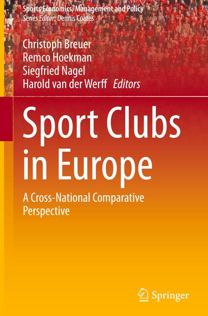 Sport Clubs in Europe als Buch von