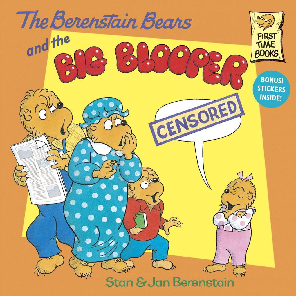 The Berenstain Bears and the Big Blooper als Taschenbuch